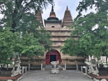 a primer on chinese pagodas the vajra throne pagoda 金剛寶座塔