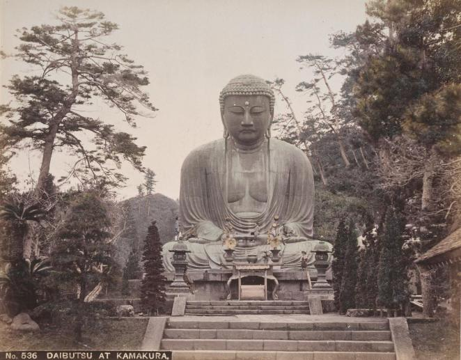 536 Daibutsu at Kamakura [National Gallery of Victoria, Melbourne]