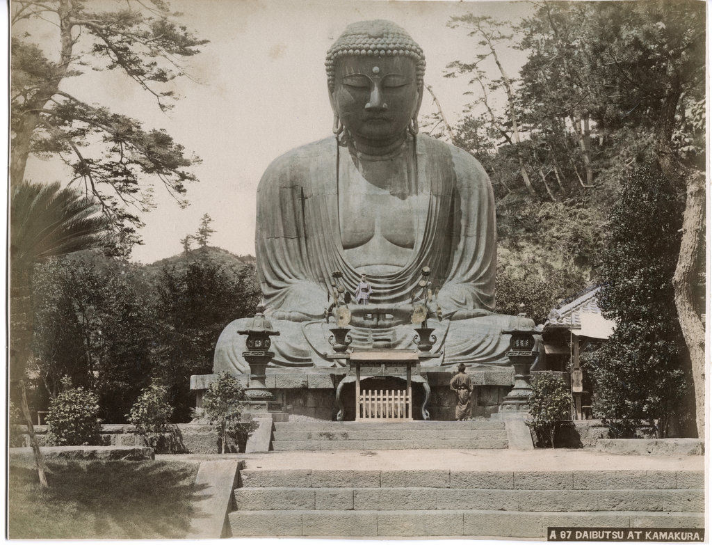 A87 Daibutsu at Kamakura [Bennett 2006 158 Unknown (2)].JPG